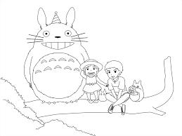 ang kapitbahay ko na si totoro line art by leanzaofearth on
