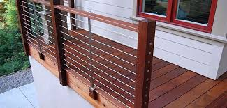 modern deck and deck railing ideas montreal outdoor living