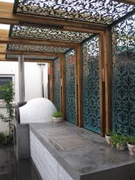 shade screen in a pergola interior pinterest shade screen