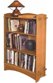 Bookshelves Woodworking Plans by Tapered Display Shelf Woodworking Plan Indoor Home Furniture