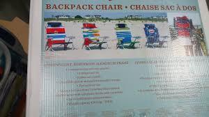 Backpack Cooler Beach Chair Tommy Bahama Backpack Beach Chair Costco Weekender