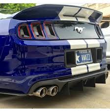 2014 mustang rear diffusers and more ford mustang rear diffuser 2010 2014 gt500