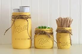 kitchen storage canister jar coffee canister set 3 yellow kitchen storage