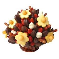 dipped fruit baskets fruit truffles bouquet apple and pear bites dipped in chocolate