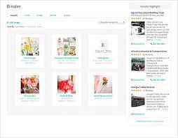 Best Wedding Planner Organizer The 25 Best Wedding Organizer Ideas On Pinterest Wedding Binder