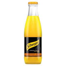 schweppes orange juice 24x 200ml drinksupermarket