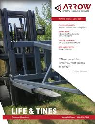 what do landscapers do life tines july 2017 by arrow material handling products issuu