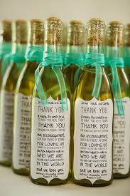 wine wedding favors 7 wine wedding favors we favors wine and bottle