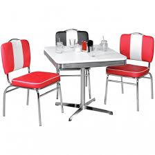 Esszimmertisch Design Wohnling Esstisch Elvis 80 Cm American Diner Mdf Holz U0026amp Alu