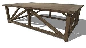 canap sketchup table lourmarin maison du monde cheap mecox gardens zinc top