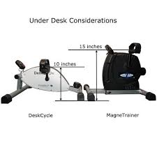 Under Desk Exercise by Deskcycle Desk Exercise Bike Pedal Exerciser