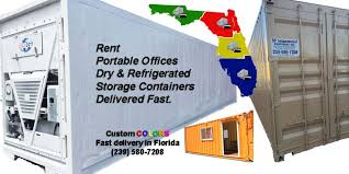 Office Storage Containers - portable storage dry reefer u0026 office rental portable storage