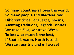 so many countries all the world ppt