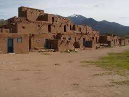 Pueblo Adobe Homes Living History Taos Pueblo Taos New Mexico