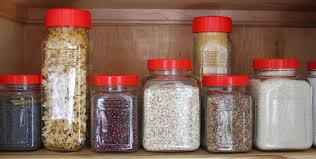 plastic kitchen canisters kitchen jar organization homeandawaywithlisa