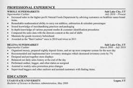 Supermarket Resume Examples by Grocery Store Clerk Resume Examples Reentrycorps