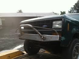 prerunner ranger fenders elite prerunner front bumper ford ranger u002783 u002792 ford bronco ii