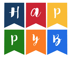 Happy Birthday Flags Birthday Flag Banner Template Ins Ssrenterprises Co