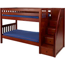 Kids Beds Kids Bedroom Furniture Bunk Beds  Storage Maxtrix - Half bunk bed