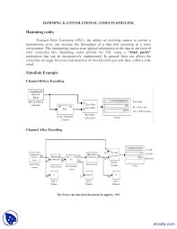 hamming and convolution codes digital communications lab handout