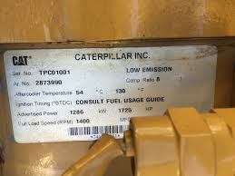 new surplus caterpillar g3520le natural gas engine mustang cat
