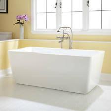 Acrylic Freestanding Bathtub Freestanding Acrylic Tub Plumbing U0026 Fixtures Ebay