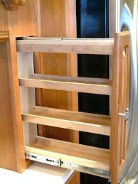 kitchen cabinet spice racks cabinet spice pull out rev a shelf spice rack pull out