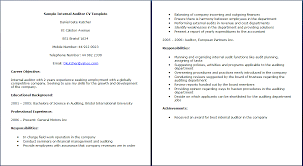 Career Objective In Cv For Accountant Help With My Accounting Curriculum Vitae