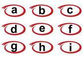 swoosh alphabet icon b u2014 stock vector mictoon 132689714