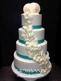beachy wedding cakes wedding cakes croissants myrtle bistro bakery