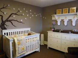 Grey And Yellow Crib Bedding Yellow And Gray Nursery Contemporary Nursery Benjamin