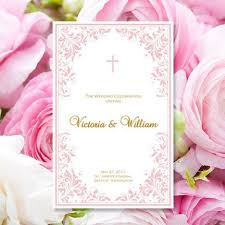 print wedding programs catholic wedding program kaitlyn blush pink order of service