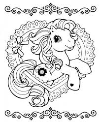 free my little pony friendship is magic coloring pages kid room