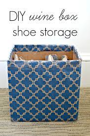 spring cleaning diy shoe storage hack mon amye seriously shoebox