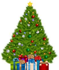 Extra Large Christmas Tree Decorations by Christmas Tree With Gifts Clipart Clipartxtras