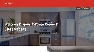 Kitchen Cabinet Store Website Templates GoDaddy - Kitchen cabinet stores