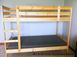 Mydal Bunk Bed Frame Ikea Mydal Bunk Bed Frame Second Bunk Bed Frame Flickr