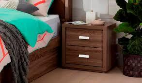where to buy bedside ls addison bedside table 2 drawer mocha oak bedroom furniture