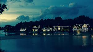 Boat House Row - celebrate the relighting of boathouse row