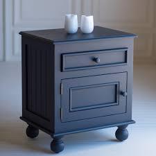 grey metal bedside table nightstand beside seaside nightstand beautiful co blue the night