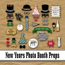 new years party stuff new years photo booth props 2016 printable 2016 new year