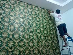 wallpaper dinding murah cikarang call wa 081231423823 jasa pasang wallpaper di bekasi dan sekitar