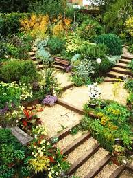 Landscaping Ideas For Sloped Backyard Backyard How To Landscape A Slope Amazing Ideas To Plan A Sloped