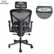 Modern Office Chairs Mesh New Modern Ancheer Mesh Office Chair High Back Executive Computer