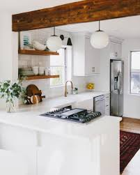 Small Open Kitchen Ideas L Shaped Kitchen Designs With Breakfast Bar Outofhome