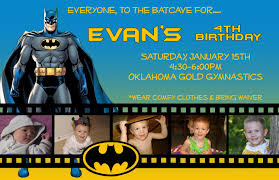appealing batman birthday invitation cards u2014 liviroom decors