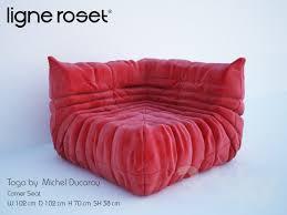 3d models sofa togo corner seat michael ducaroy ligne roset