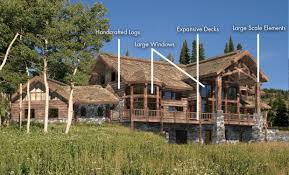 architectrual styles log homes timber homes western log timber style homes