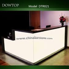 Wholesale Reception Desk Modern Salon Furniture Reception Desk Small Reception Table