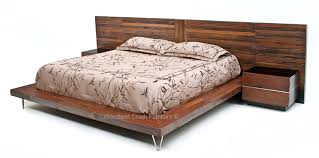 Headboard For Platform Bed Custom Made Platform Bed Reclaimed Wood Repurposed